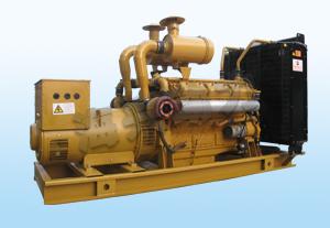 300KW上柴12缸发电机组